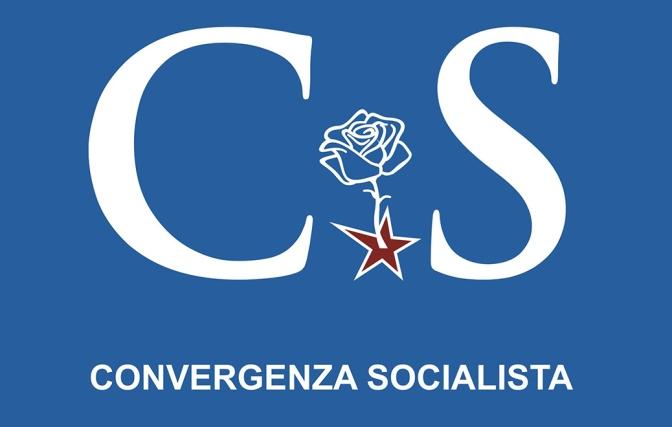 Bandiera Convergenza Socialista socialismo sinistra Nuovo Stato Sociale