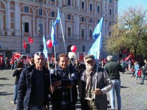 Convergenza Socialista piazza protesta CS Nuovo Stato Sociale socialismo sinistra partito socialista