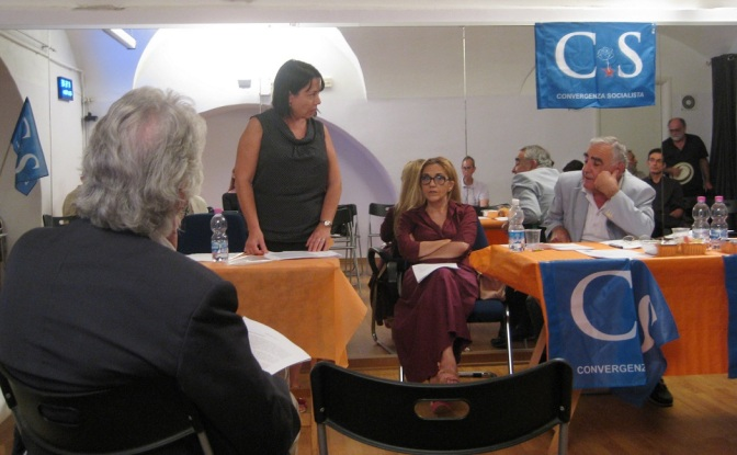 Convergenza Socialista socialismo sinistra partito socialista CS Nuovo Stato Sociale Annamaria Carrese