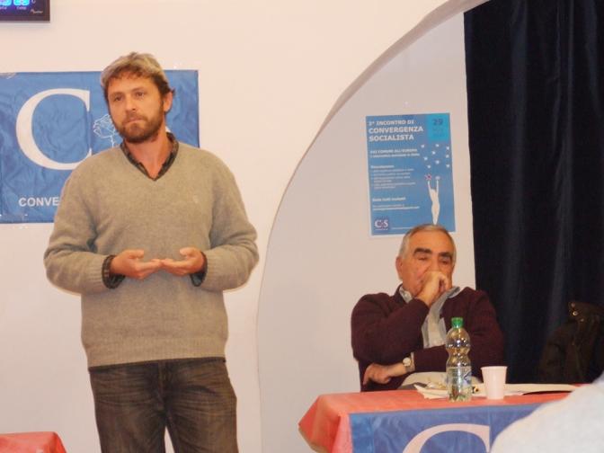Convergenza Socialista socialismo sinistra partito socialista CS Nuovo Stato Sociale Antonio Di Pasquale