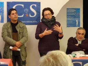 Convergenza Socialista socialismo sinistra partito socialista CS Nuovo Stato Sociale Mevlut Uzer Maddalena Celano