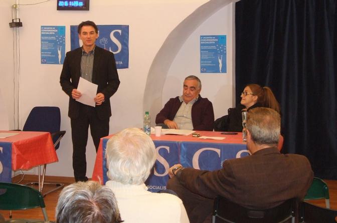 Convergenza Socialista socialismo sinistra partito socialista CS Nuovo Stato Sociale Roberto Spagnuolo