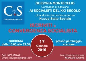 Convergenza Socialista socialismo sinistra partito socialista CS Nuovo Stato Sociale Società Guidonia