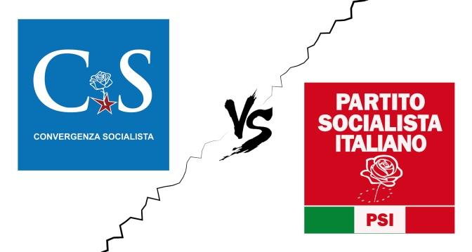 Convergenza Socialista socialismo sinistra partito socialista CS Nuovo Stato Sociale CS vs PSI