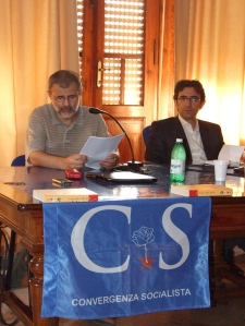 Convergenza Socialista, Marco Moriconi, Manuel Santoro, Pietrasanta, referendum