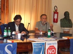 Filippo Russo, Manuel Santoro, Convergenza Socialista, Moriconi, Pietrasanta, referendum