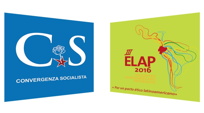 CONVERGENZA SOCIALISTA INVITATA ALL'ELAP 2016