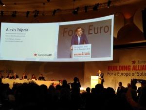 Alexis Tsipras, Sinistra Europea, Congresso-2016