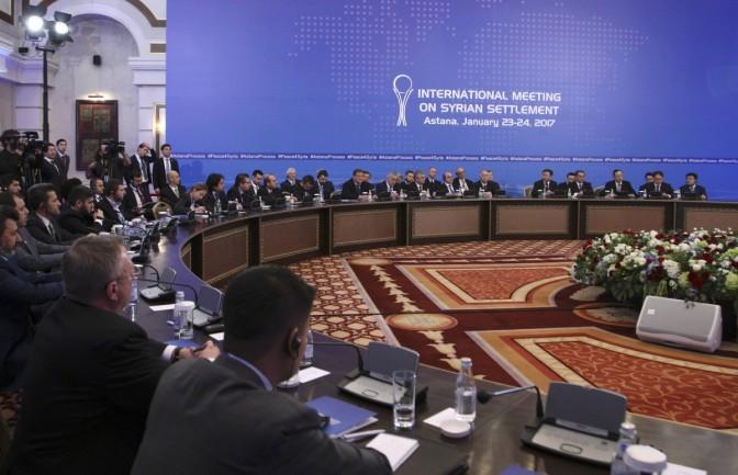 Astana Siria Russia