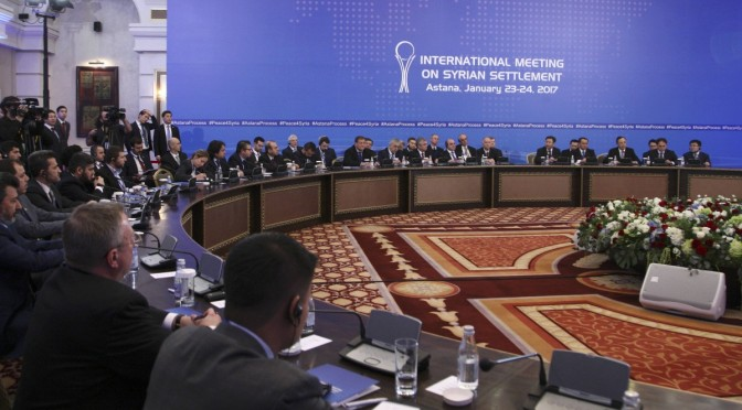 SIRIA. SANTORO (CS): IN KAZAKISTAN COLLOQUI DI VITALE IMPORTANZA