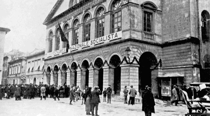 """LA """"PROFEZIA"""" DI TURATI DEL 1921: IL SOCIALISMO CONTRO LA VIOLENZA POLITICA"""