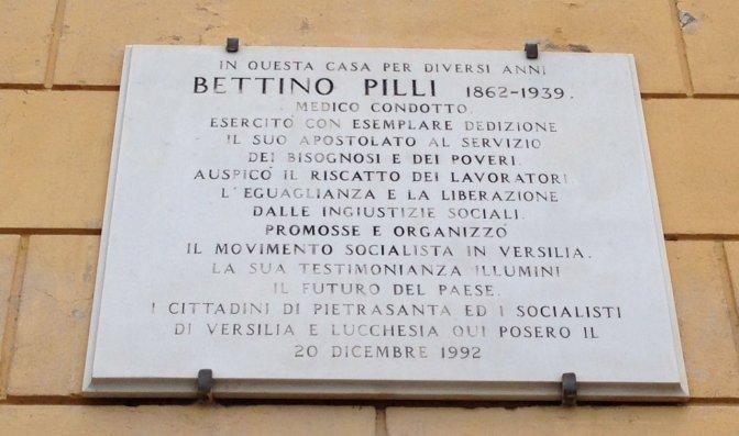 Bettino Pilli politico, civile e sociale
