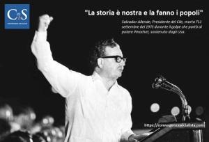Salvador Allende Cile Presidente USA CIA colpo di stato socialismo