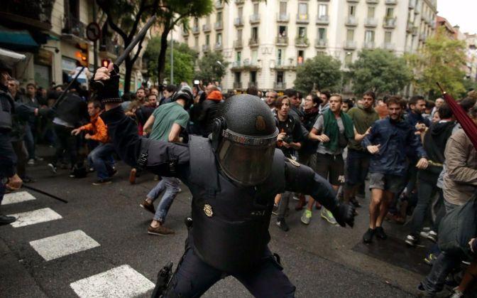 catalogna santoro polizia rajoy convergenza socialista
