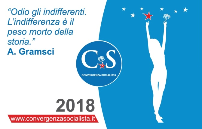 10 settembre 2018: manifesto e programma politico socialista