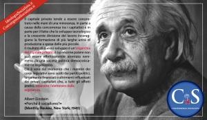 Albert Einstein «Perché il socialismo?»
